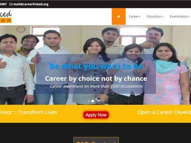 Career Council Website PHP