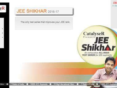 http://jeeshikhar.catalyser.click