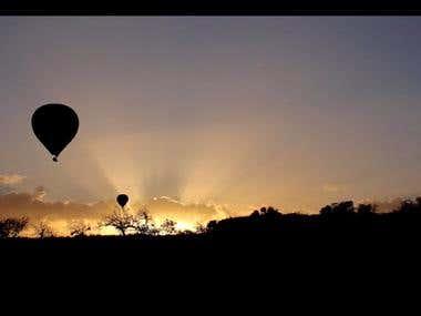 Ballooning in Capadoccia