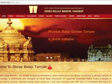 Shree Balaji Mandir(Temple)