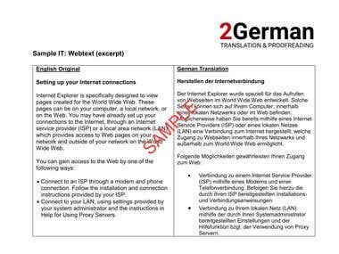 Translation Sample - Information Technology