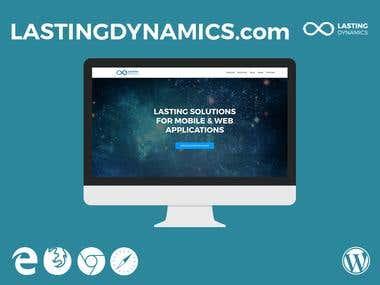 lastingdynamics.com - Wordpress Website
