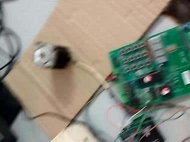 Control of stepper motor using STP-3A drive and PIC18F4550