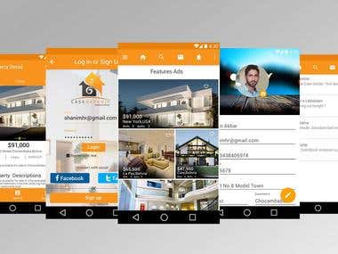 Dream House Real Estate App