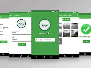 Ferlamyndir.is App