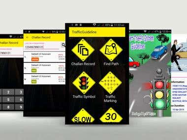 Smart Traffic Guide App