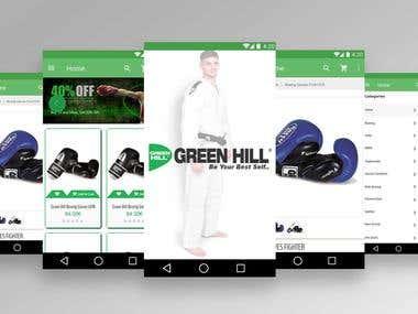 Green Hill Sports App