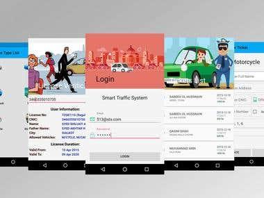 Smart Traffic System App
