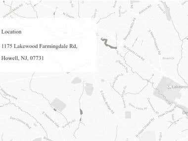 Google Map Customization