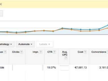 Adwords - Dynamic Search Ads Case