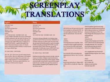 Screenplay Translations