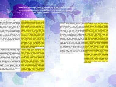 ENGLISH MALAY TRANSLATIONS