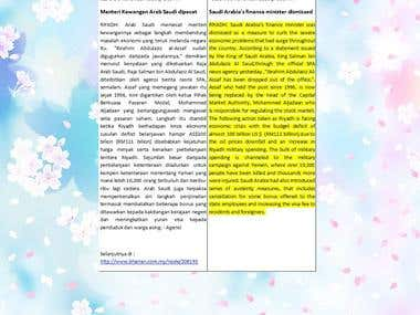 MALAY ENGLISH TRANSLATIONS