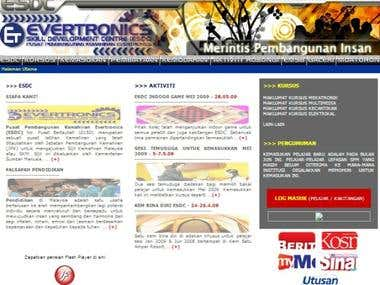Evertronics Institute Website v.1.0