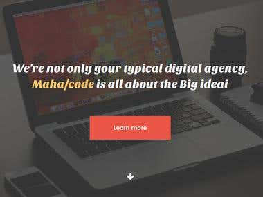 MahaCode Website