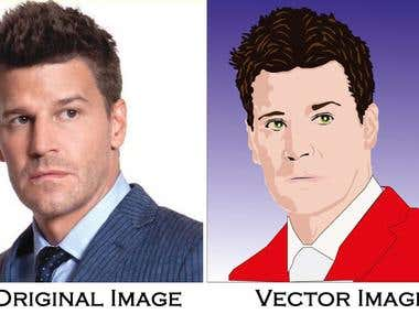 Creating Vector image from JPEG