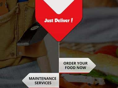 The Delivery App in S.Africa(Client and Service Provider)
