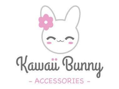 Logo Kawaii Bunny