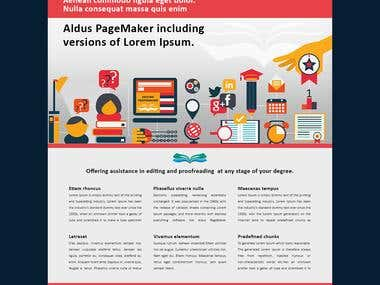 Editing and proofreading home page design