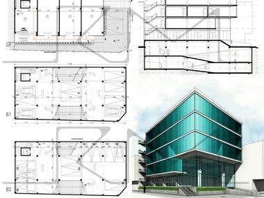 Basement Parking Design