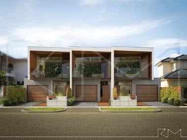Townhouses visualizations