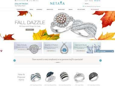 netaya (ecommerce site design)