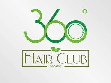 Logo for 360ºHairClub
