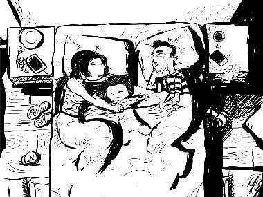 sketch for graphic novel