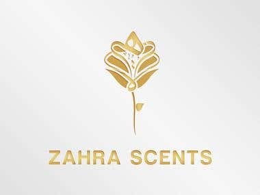 Logo for ZAHRA SCENTS