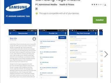 Samsung Tugu App