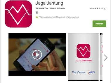 Jaga Jantung (Cardiobeat) App