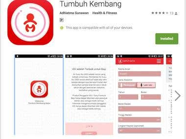 Tumbuh Kembang (Child Growth) App