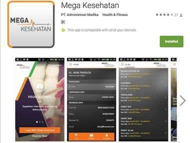 Mega Kesehatan App