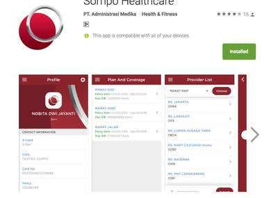 Sompo Healthcare App