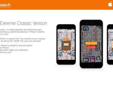 2048 Extreme Classic Version