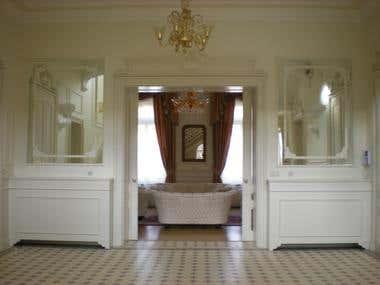 Reconstruction of Mansion Danica - 2008