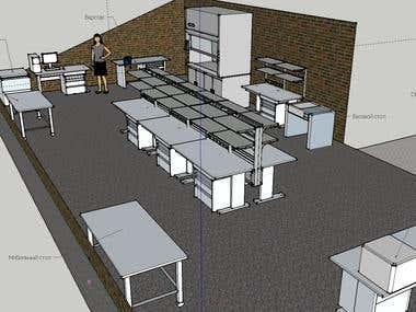 3D Design of Lab