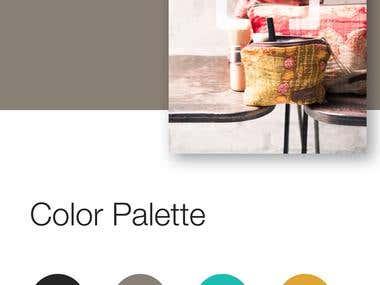 UI Design for Shopping App