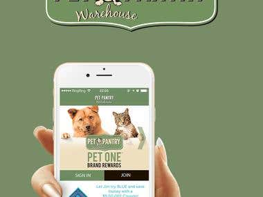 Pet Pantry Warehouse iOS App