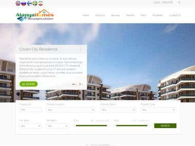 PHP website for Real Estate