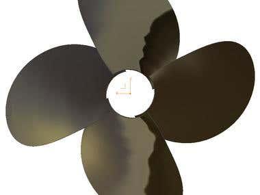 CFD propeller