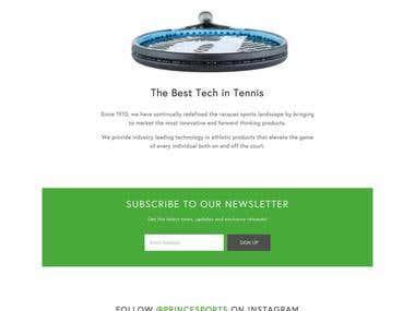 Prince Tennis Portal