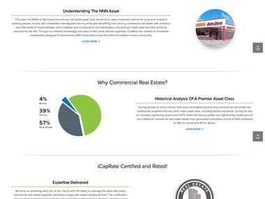 Financial Portal ( WordPress)