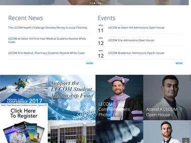 Medical School Portal ( Drupal)
