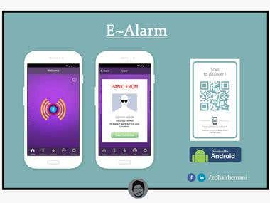 E-Alarm - Android App