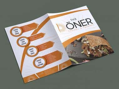 Take Away Menu Design