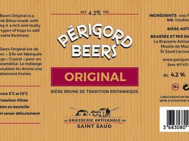 Beer Logo & Label design