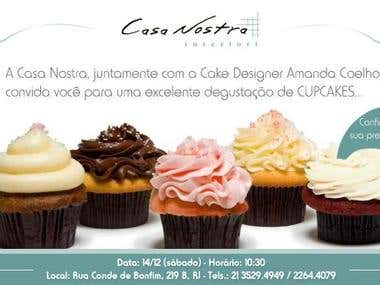 Marketing Flyer for Cupcake day