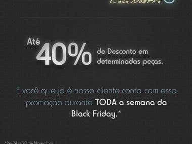 Black Friday Email Marketing for a Furniture Store