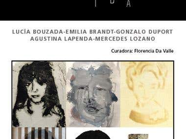 Banner for Art Exhibition